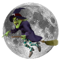 Witch Over Moon